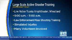 Active Shooter Training Happening In Wheatland [Video]