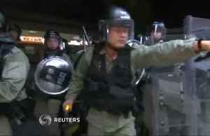 News video: Hong Kong's police face a crisis of their own