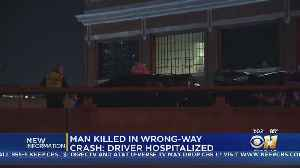 Driver In Deadly Wrong-Way Crash On I-45 Identified [Video]