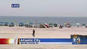 Officials Warn Of Rip Current At Jersey Shore As Many Flock To Beach During Excessive Heat [Video]