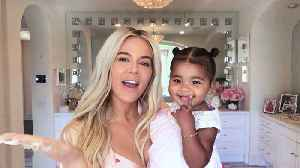 Khloé Kardashian on New Mom Makeup, Contouring, and the Meaning Behind Her Daughter's Name [Video]
