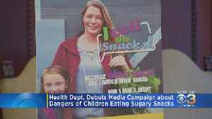 Philadelphia Health Department Launches Media Campaign On Dangers Of Children Eating Sugary Snacks [Video]