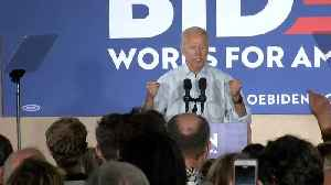 Joe Biden in Council Bluffs [Video]