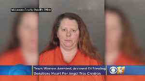 Texas Woman Arrested, Accused Of Stealing Donations Meant For Angel Tree Children [Video]