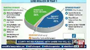 Hillsborough BOCC moves forward with implementing where transportation sales tax will go [Video]