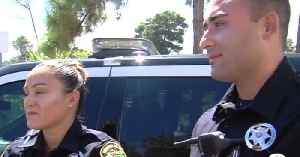 Officers recognized for helping homeless woman [Video]