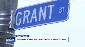 $400,000 in grant money given to revitalize Grant Street [Video]