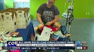 MLB umpires stop by Johns Hopkins Children's Center [Video]
