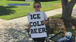 News video: Utah Boy Selling Ice Cold Beer...Root Beer That Is