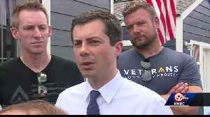 Presidential candidate Buttigieg visits KC's tiny homes for veterans [Video]