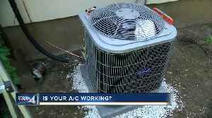 AC businesses brace for rush in extreme heat [Video]