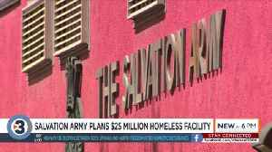 Salvation Army plans for $25 million homeless facility on Madison's east side [Video]