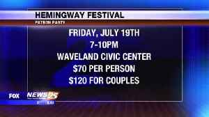 Hemingway Festival in Waveland Friday & Saturday [Video]