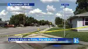 Father of Battle Ground teen killed in police chase files lawsuit [Video]