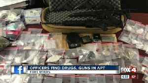 Fort Myers police search leads to drugs and guns [Video]
