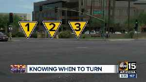 What is Arizona's law when pedestrians are in the crosswalk? [Video]