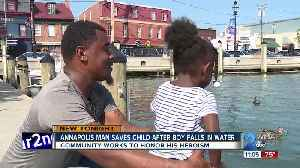 Annapolis man saves child after boy falls in water [Video]