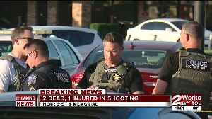 Two dead, one injured in shooting [Video]