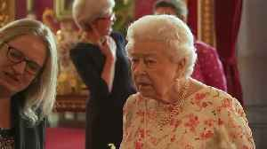 Queen Elizabeth watches past royals brought to life [Video]