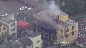 At least 23 feared dead after a fire at a Japanese animation studio [Video]