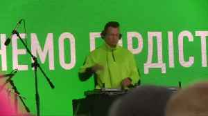 News video: Ukraine's leader set to win snap parliamentary election