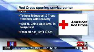 Red Cross opening earthquake recovery service center [Video]