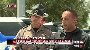 Press conference: Active shooter investigation at Chico's headquarters in Fort Myers [Video]
