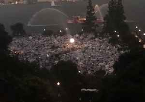 Storms Wash Out New York City's 'Diner en Blanc' Picnic [Video]