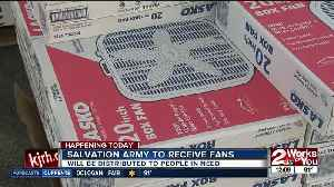 Salvation Army to distribute fans to those in need [Video]