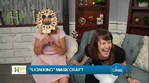 Lion King Mask Craft With Holly Peppin [Video]