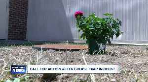 Call for action after grease trap incident [Video]