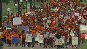 Kids March On Minn. Capitol For Gun Control [Video]