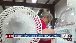 News video: Metro residents seek ways to stay cool in first heatwave of 2019