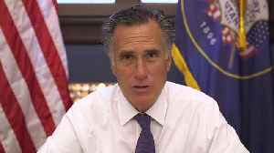 Sen. Mitt Romney Says He Supports Trump`s Policies, But His Tweets Were `Racially Offensive` [Video]