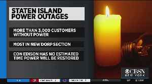 Power Outage Hits Staten Island Again [Video]