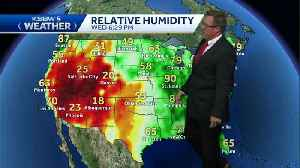 Average temps on the central coast with higher temps statewide [Video]