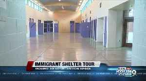 Tour the detention center becoming an immigration shelter [Video]