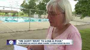Concerned neighbors speak out against closing Brighton Pool [Video]
