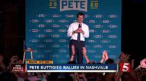 Mayor Pete Buttigieg holds rally in Nashville [Video]