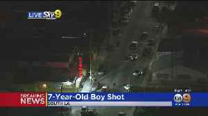 7-Year-Old Child Injured In South LA Shooting, Condition Unknown [Video]