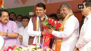 BJP appointed Chandrakant Patil as president of its Maharashtra state unit [Video]