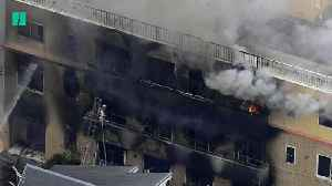 Several Dead In Fire At Japan Anime Studio [Video]