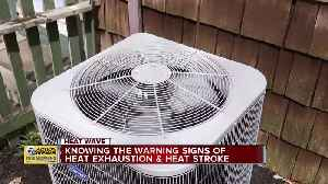 Be aware of these warning signs for heat-related illnesses [Video]