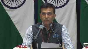News video: Jadhav Case | 'Pakistan reading from a different verdict': MEA