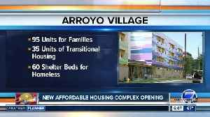 New affordable housing development complex opens [Video]