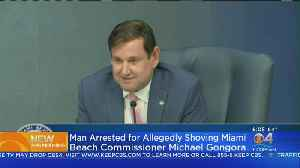 Man Arrested For Reportedly Shoving Miami Beach Commissioner [Video]