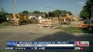Phase 3 of Harrison Street project begins [Video]