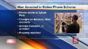 Man arrested for buying more than $100,000 in Amazon purchases using stolen phone [Video]