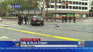 Tractor-Trailer Suspected In Downtown San Francisco Hit-&-Run [Video]