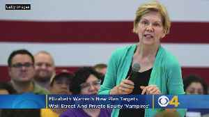 News video: Elizabeth Warren's New Plan Targets Wall Street And Private Equity 'Vampires'